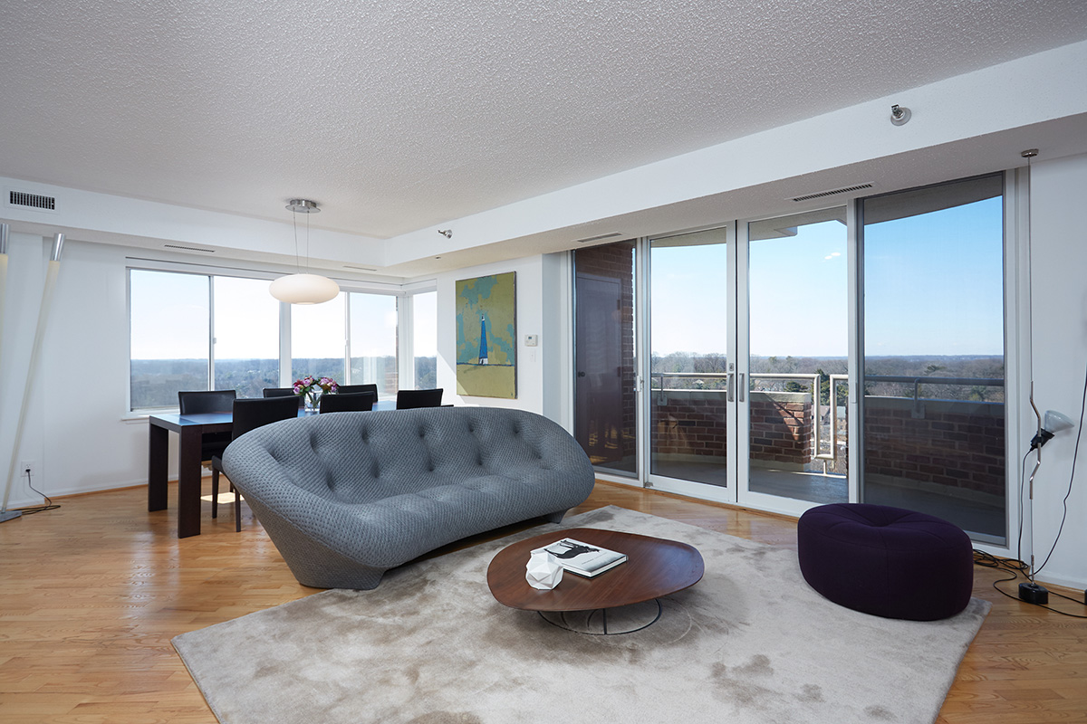 Balcony In Bedroom